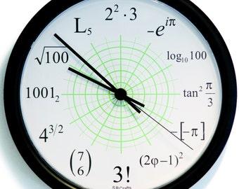 Professional Math Clock