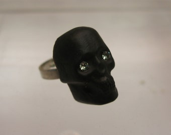 Murano Glass skull ring