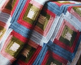 Heirloom Afghans Edited By Judy Crow Paperback Crochet Pattern Book 2008