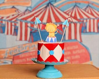 Circus Cake Topper
