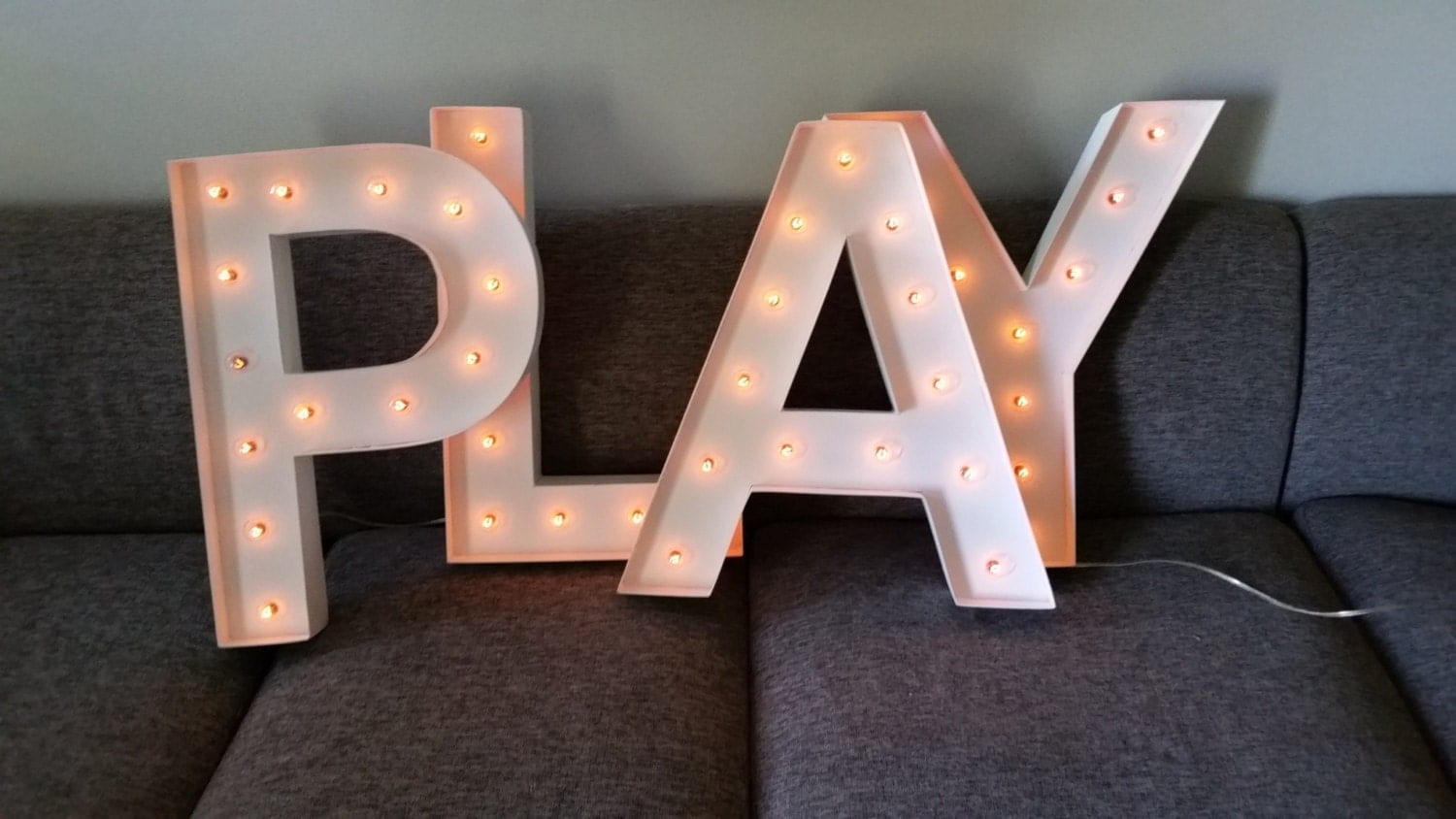 24 large white marquee light up letters numbers by With large marquee light up letters