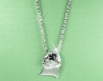 Uptown Cat Necklace