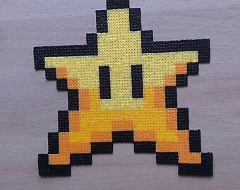 Super Mario Star Christmas Tree Topper. Have a Retro Christmas!!