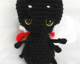 Lucy the Ladybug Cuddle Bug; CROCHET PATTERN; PDF