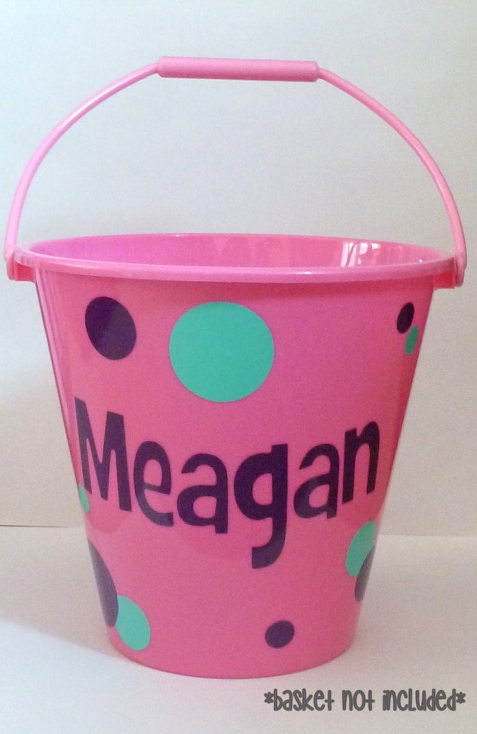 Custom Easter Basket Vinyl Personalized Easter Basket Diy