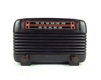 Antique Tube Radio Philco Transitone Radio Vintage 1940s Bakelite Radio Vintage 1930s Tube Radio Philco Transitone Radio