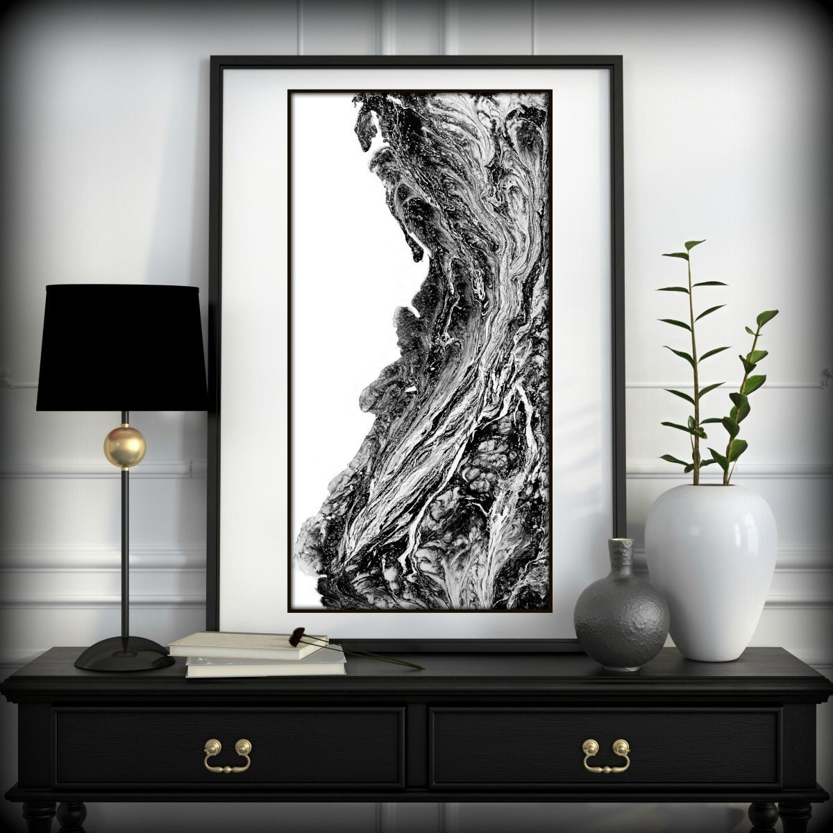 Black and white prints black and white art black and for White wall art