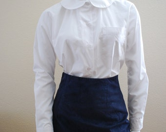 peterpan collared shirt with pocket