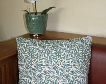 "William Morris Willow Bough Complete Cushion 16"" x 16"" - Sanderson Fabric"