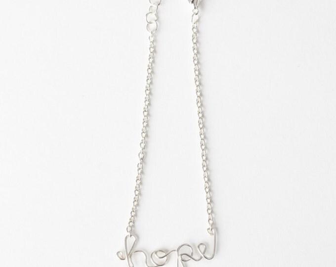Hope Bracelet (Silver)