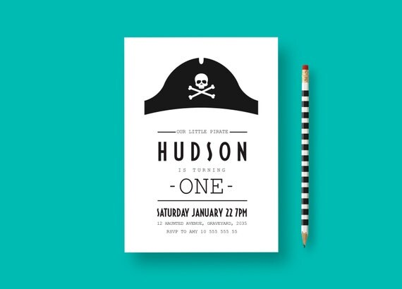 baby boy pirate birthday boys 1st birthday invite pirate party