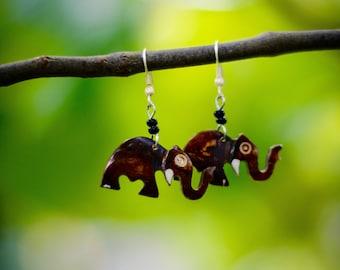 Elephant Earrings from Kenya