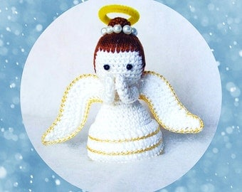 Amigurumi Angel - Crochet Angel pdf pattern