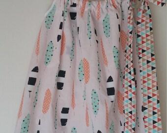 Feather Pillow Case Dress