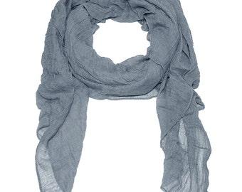 Ziegfeld Scarf in Dark Gray