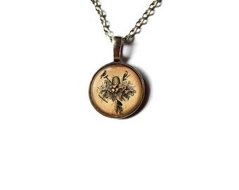 Cute jewelry Bird pendant Animal necklace NWR134