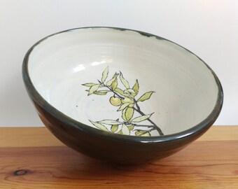Olive Branch Bowl (Porcelain)