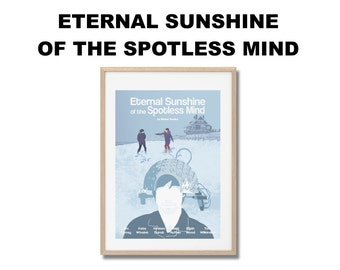 Eternal Sunshine of the spotless Mind Movie Print - Poster Michel Gondry A3