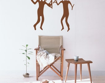 Wall Decal, Ancient Aliens, Cave Drawings, aliens, wall stickers, cave art, alien decal, ancient astronaut