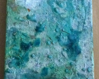 ooak sculptural painting
