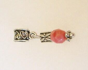 D33 - Rose Quartz Dangle