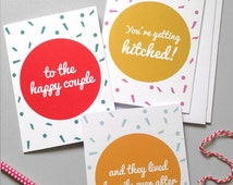 The Wedding Card Set (Pack of 3)