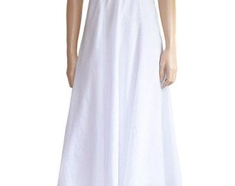 Boho Dress, Together White Halter Midi Dress, Women's Dress, White Dress, Cotton Dress, Summer Dress,  Sun Dress, Women's Clothing, Dresses
