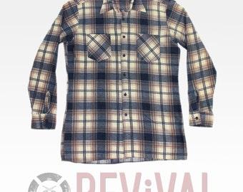 Vintage Mens Flannel Shirt ~ Size M