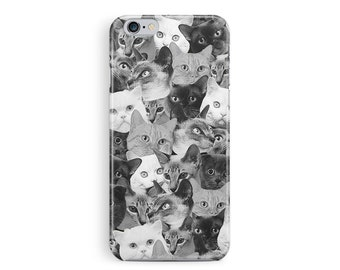 Black Friday Sale, iPhone 6 case, Cat iPhone 6 Case, Cat Lover, Cat iphone Case, Cat Lover Gift, Kitten iPhone 6 Case, Cute iPhone 6 Case