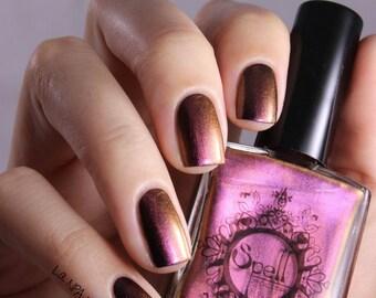 SPELL POLISH Magichromes™: Magic Happens ~Soaking Up Sunshine~ multichrome nail polish!
