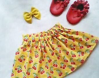 Retro Inspired Cherry skirt