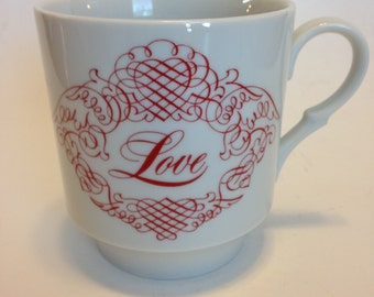 Love Mug designed exclusively for House of Goebel by Audrey Walters