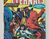 Eternals; Vol 1 Annual 1, Bronze Age Comic Book.  VF/NM (9.0). August 1977.  Marvel Comics
