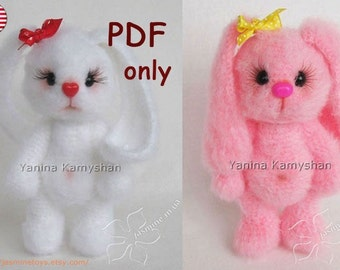 Cute Bunnies, amigurumi crochet pattern