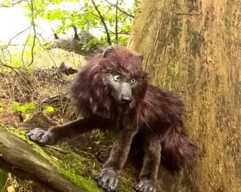 """posable artdoll """"dark wolf"""""""