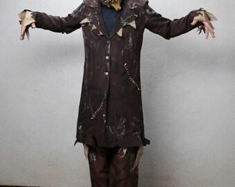 Distressed Scarecrow Jacket Costume