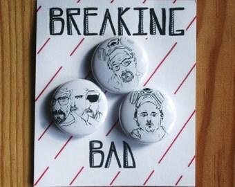 Breaking Bad pin badges