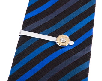 Gifts for Men, 45 Caliber Bullet Tie Clip, Bullet Tie Tack, Mens Tie Tacks, Mens Tie Clip, Mens Accessories, Mens Fashion, Gift for Him