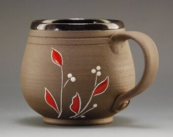 Handmade coffee mug, pottery cup, coffee cup, mug, ceramic coffee mug, pottery mug, pottery coffee mug, cappuccino cup, handmade pottery