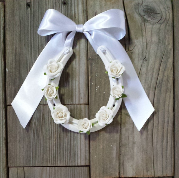 Horseshoe Wedding Gift: Wedding Horseshoe Irish Wedding Western By EECustomHorseShoes