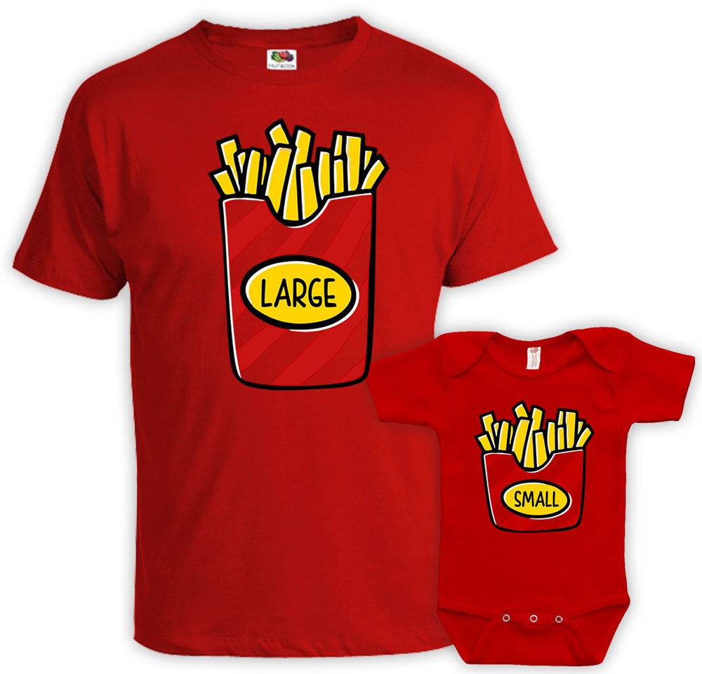Father Son Matching Shirts Matching Father And Baby Large Fry