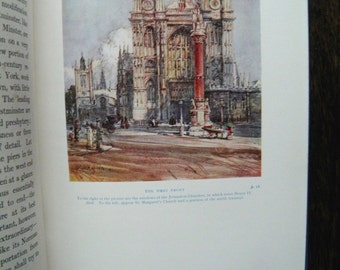 Beautiful Britain Westminster Abbey by Joseph Morris 1914 illustrated