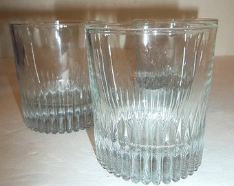 ON SALE WAS 12.90...Set of 3 Cut Glass Old Fashions