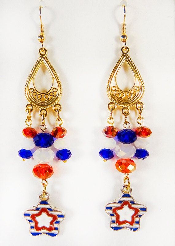 4th of july earrings fourth of july dangle earrings page four fourth of july 8069