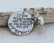 Memorial jewelry | Memorial keychain | In loving memory keychain | Loss of a loved one