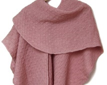 Cashmere wrap shrug handwoven wrap shawl large wool cashmere scarf women wool cape wool poncho coat wool shawl shrug handmade cashmere scarf