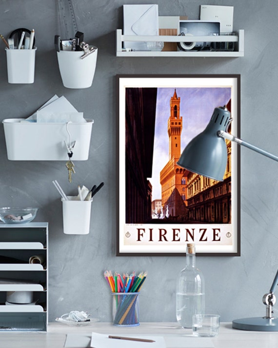 Purchase Firenze Italy Poster at Etsy Shop, Grafica Italia