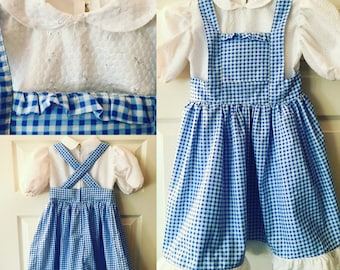 Girls' Dorothy Dress - Custom Cosplay Costume Commission, Made to Order