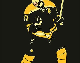 Boston Bruins A3 print