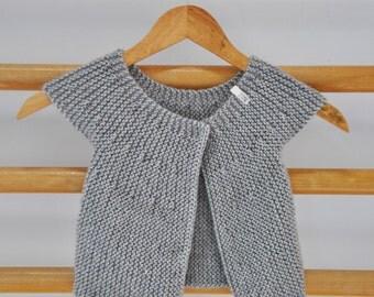 Baby Cardigan 6-9 Months // Handmade